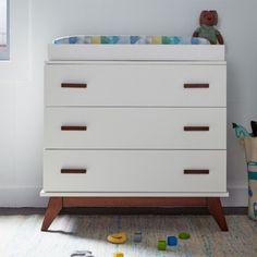 DwellStudio Norfolk 3 Drawer Dresser in French White