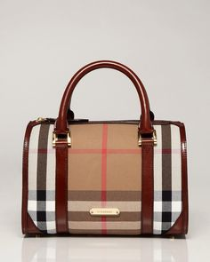 Burberry Chester Satchel Brown