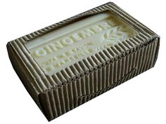 Ginger French Soap Moisturizing fresh vegetable soap. Made with sheabutter and Olive Oil. Spice up your shower! Made in France