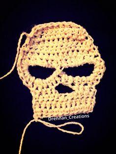 great start for a monster high hat!!!#drennan_creations #skull #crochet #wip