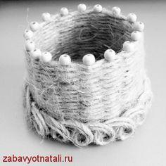 Шкатулка-корзинка