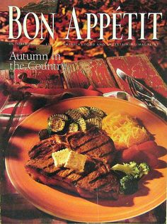 Buy any of our magazines and get a second for 1/2 off. Autumn in The Country, Bon Appetit Cooking Magazine, Oct 1993 Vol. 38, No. 10