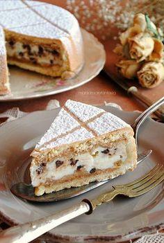 MPOWER/// cassata al forno siciliana Italian Pastries, Italian Desserts, Bakery Recipes, Dessert Recipes, Cooking Recipes, Torte Cake, Sicilian Recipes, Sicilian Food, Cookies Et Biscuits
