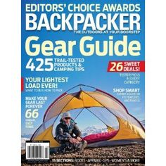 Backpacker (1-year auto-renewal)  3.7 out of 5 stars  See all reviews (91 customer reviews) | Like (29)  Cover Price: $44.91  Price: $12.00 ($1.33/issue) & shipping is always free. Details  You Save: $32.91 (73%)  Issues: 9 issues / 12 months