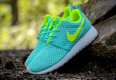 Nike Womens Roshe One BR - Artisan Teal - Volt - SneakerNews.com