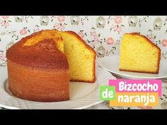 Recetas de bizcocho de naranja, un bizcocho de naranja jugoso, esponjoso y tentador, una receta con Thermomix, otro de naranja y chocolate y el de yogur. Vegan Desserts, Dessert Recipes, Pan Dulce, Homemade Cake Recipes, Loaf Cake, Almond Cakes, Cake Cookies, Cupcakes, No Bake Cake