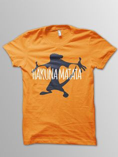 Lion King Hakuna Matata Shirt Disney shirt kids by ConchBlossom
