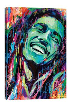 Bob Marley Painting, Bob Marley Art, Canvas Artwork, Canvas Art Prints, Canvas Wall Art, Wood Painting Art, Art Paintings, Acrylic Paintings, Fine Art