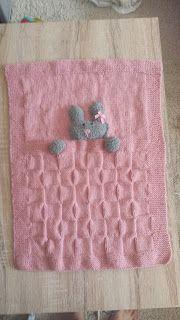 Une maman qui déchire... ou pas ! : tuto couverture lapin pour berceau