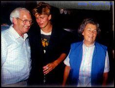 John with parents