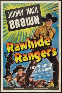 "Movie Posters:Western, Rawhide Rangers (Universal, 1941). One Sheet (27"" X 41""). Western..... Image #1"