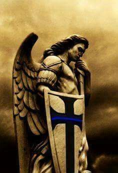 Archangel Michael....Patron of Police Officers.......and Paratroopers.