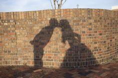 Shadow of the Bride + Groom I CMT Event Planning I #weddingphotos #weddingphotography
