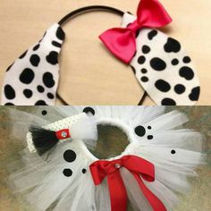 Dalmation Tutu Infant to toddler tutu set with by MyStyleAngels Disney Baby Costumes, Dog Costumes For Kids, Puppy Halloween Costumes, Sister Costumes, Family Costumes, Kid Costumes, Halloween Outfits, Costume Ideas, Toddler Puppy Costume
