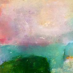Pastel landscape by KarinahernejansenART on Etsy