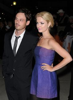 Scoot McNairy and Whitney Able arrive at 'The Town' Premiere held at Roy Thomson Hall during the 35th Toronto International Film Festival on September 11, 2010 in Toronto, Canada. (Photo by Jason Merritt/Getty Images) - Edited