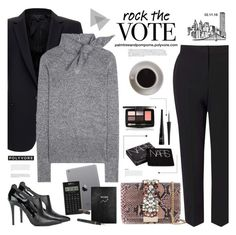 """Rock the Vote in Style / Isabel Marant Adil Metallic Sweater"" by palmtreesandpompoms ❤ liked on Polyvore featuring Equipment, Isabel Marant, Butter London, MICHAEL Michael Kors, BoConcept, Bunn, Miss Selfridge, GEDEBE, e.l.f. and NARS Cosmetics"