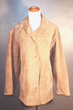 Eddie Bauer suede jacket, ladies' size XL, available at our eBay store! $40
