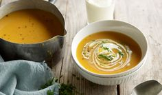 Easy Bacon & Pumpkin Soup Recipe with Campbell's Real Stock