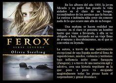 FEROX: serás leyenda. Olivia Sterling. EduRead: #RecomiendoLeer @davidgscom