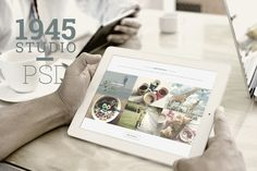 Check out 1945 Studio - Onepage PSD Template by Maulana Creative on Creative Market