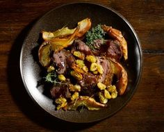 Chef Paul Kahan's Recipe for Roasted Venison Backstrap Venison Backstrap, Venison Meat, Venison Recipes, Meat Recipes, Dinner Recipes, Healthy Recipes, Beef, Dinner Ideas