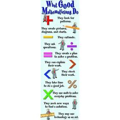McDonald Publishing Company Giant Mathematicians Do Colossal Poster Classroom Quotes, Classroom Posters, Classroom Decor, Education Quotes, Kids Education, Math Stem, Teacher Supplies, Type Posters, Problem Solving