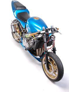 MotoHangar - vintage japanese motorcyles and custom cafe racers Honda CBR600f2 1991