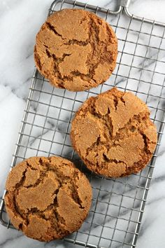 Crispy Molasses Cookies Recipe