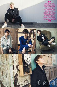2015.04, CeCi, F.T. Island, FT Island, Hongki, Jaejin, Seunghyun, Jonghoon, Minhwan