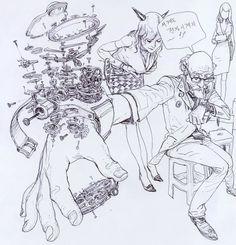 A Arte de Kim Jung Gi