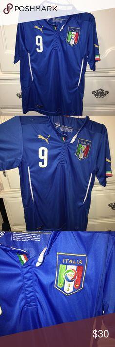 Puma Italy Balotelli Soccer Jersey Puma Italy Balotelli Soccer Jersey  Replica Italy national team soccer jersey 3b1459f83