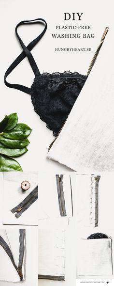 DIY Plastic-Free Washing Bag Tutorial | HungryHeart.se