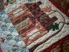 Supergoof Quilts: Home Sweet Home Quilt by Frauke