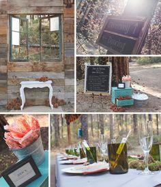 Forest Wedding Decor