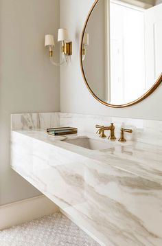 Are you looking to liven up the style in your bathroom? Try swapping your traditional hanging rectangular mirror for a glamorous round one. We are seeing a lot of these in bathroom design this Fall, so we have rounded-up our round-mirror-favorites in some stunning spaces, plus highlighted ones that we love. Enjoy your new mirror, mirror on the wall….. Read More