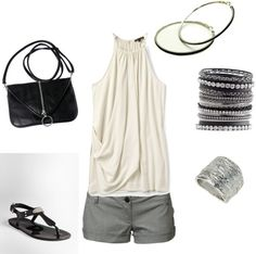 """Warm Summer Night Out!"" by olmy71 ❤ liked on Polyvore"