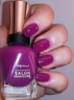 Sally Hansen Cherry Cherry Bang Bang  #RadiantOrchid #nailpolish