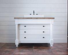 DIY Dresser Vanity -