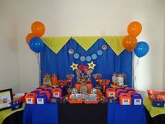 Image result for dragon ball z theme birthday party