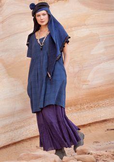 Plaid Dress Organic Cotton - Skirts & Dresses - GUDRUN Sjödén -