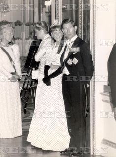 Prince Of Wales - May 1989 Prince Charles And Duchess Of York And Princess Diana And Duchess Of Kent