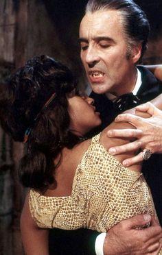 Marsha Hunt & Christopher Lee Dracula A. Hammer Movie, Hammer Horror Films, Hammer Films, Turner Classic Movies, Classic Horror Movies, Vampire Dracula, Count Dracula, Vampires And Werewolves, Adventure Film