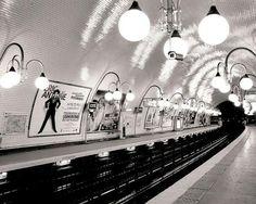 paris metro ++ the paris print shop