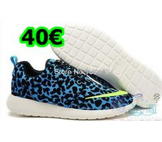 Buy New Arrival Nike Roshe Run FB Pattern Womens Leopard Blue Fluorescent Green Shoes from Reliable New Arrival Nike Roshe Run FB Pattern Womens Leopard Blue Fluorescent Green Shoes suppliers.Find Quality New Arrival Nike Roshe Run FB Pattern Womens Leopa Nike Air Max, Air Max 1, Nike Free Run 2, Running Nike, Mens Running, Cheap Puma Shoes, Nike Free Shoes, Nike Shoes, Sneakers Nike