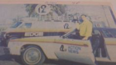 My father Terry Farrar is on top of the Action News 12 Live Shot Van -1978