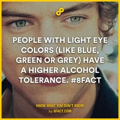 OMG! Awesome! I did out drink my husband who has brown eyes and we could not figure out how. Now I know why!