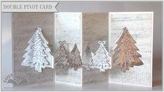 Karen shows how to make a double Evergreen Pivot Card. Blog Post: http://ecraftdesignsblog.com/2014/11/...