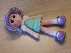 "6"" Audrey doll by Dawn Holbrook"