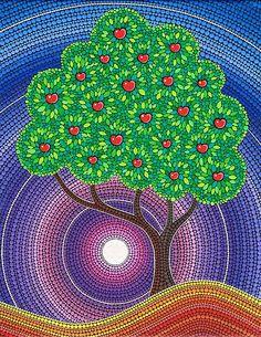 Elspeth McLean: Nouveauté Art, design et photographie Mandala Art, Mandala Painting, Dot Art Painting, Stone Painting, Elspeth Mclean, Aboriginal Art, Tree Art, Rock Art, Diy Art